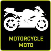 Dirt Wash Icon Motorcycle
